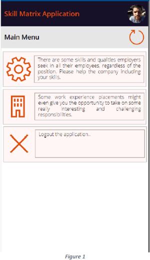Skills Matrix Figure 1
